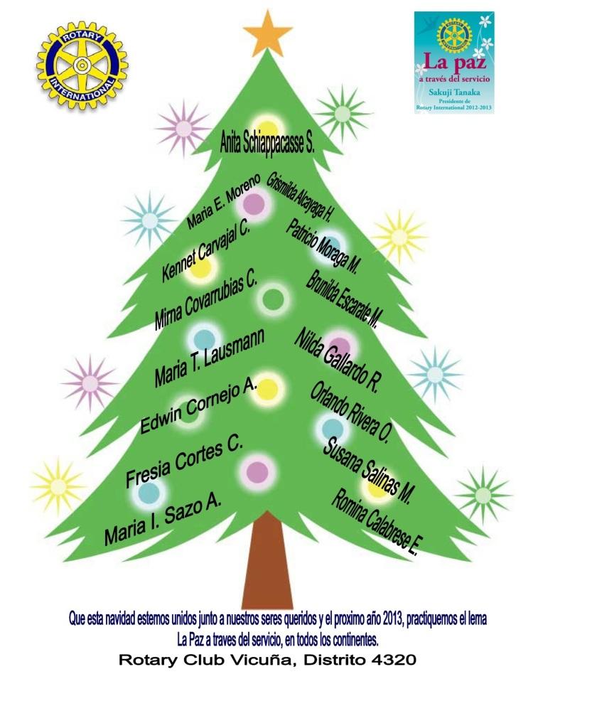 Saludo Navidad Rotary Vicuña 2013-1