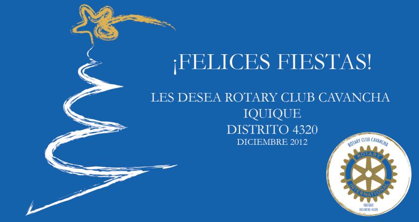 Felices Fiestas/RC Cavancha Iquique