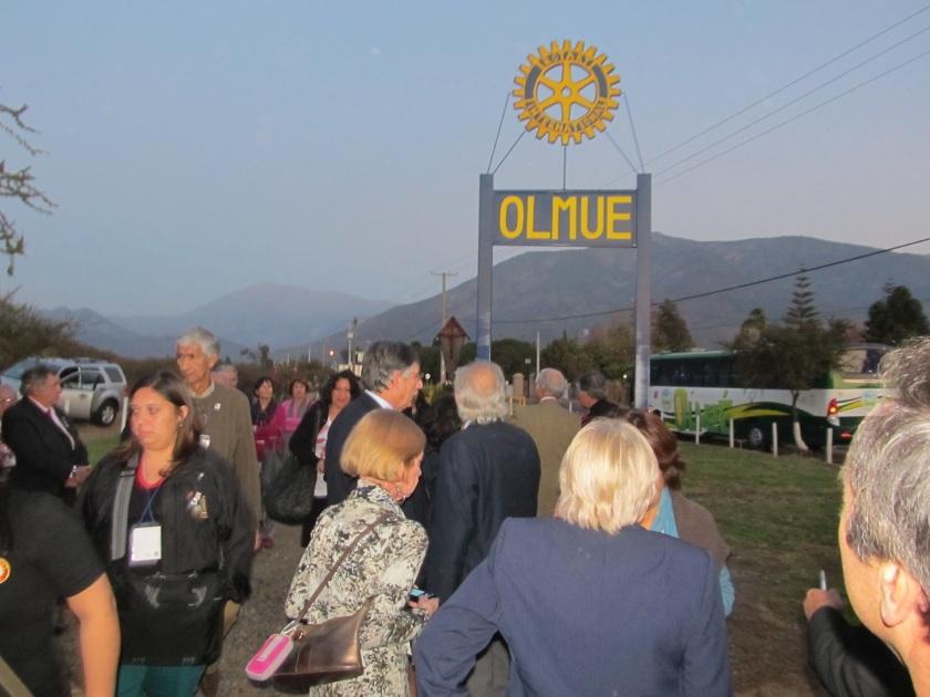 Inauguración Monolito RCO en Pelumpen