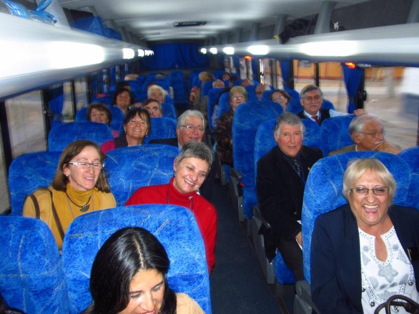 Traslado Rotarios en Bus Municipalidad Olmué