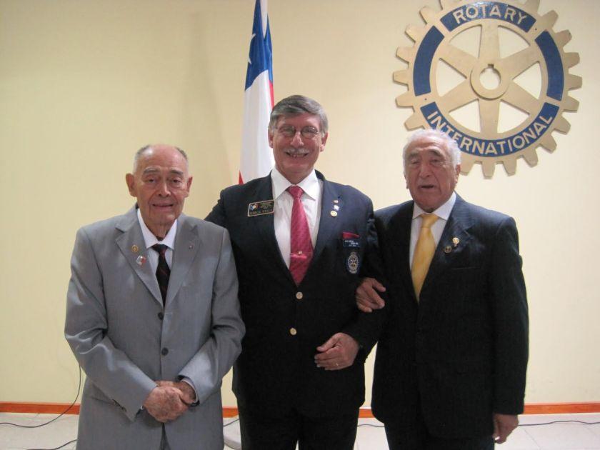 EGD Domingo del Solar, GD Jorge Vega y EGD Alfonso Leppes,