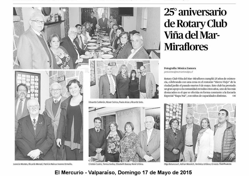 25 Aniversario Miraflores