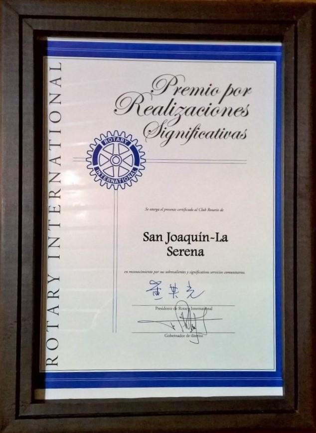 Premio Por Realizaciones Significativas