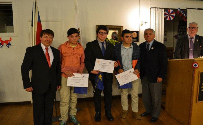 Alejandro Godoy, Nicolás Tapia, Felipe Aranda, Pablo Zamora, Roberto Ravest, Jorge Ebner.