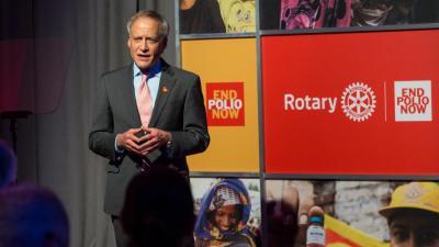 Jeffrey Kluger, editor jefe de la secciones de salud y ciencia de la revista Time, participará junto a autoridades sanitarias y líderes rotarios en el evento de Rotary del Día Mundial contra la Polio.
