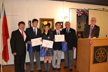 Sebastián Pulgar , Alannys Álvarez, Nicolás López