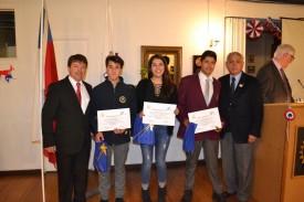 Mauro Encima, Catalina Liberona, Hugo Fernández