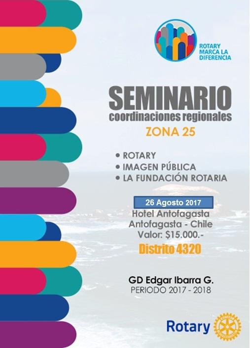 SEMINARIO COORDINACIONES REGIONALES - 26-08-2017