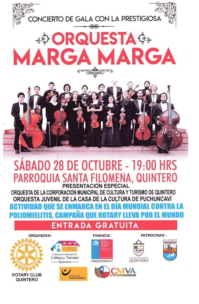 Afiche de Promoción Marga Marga
