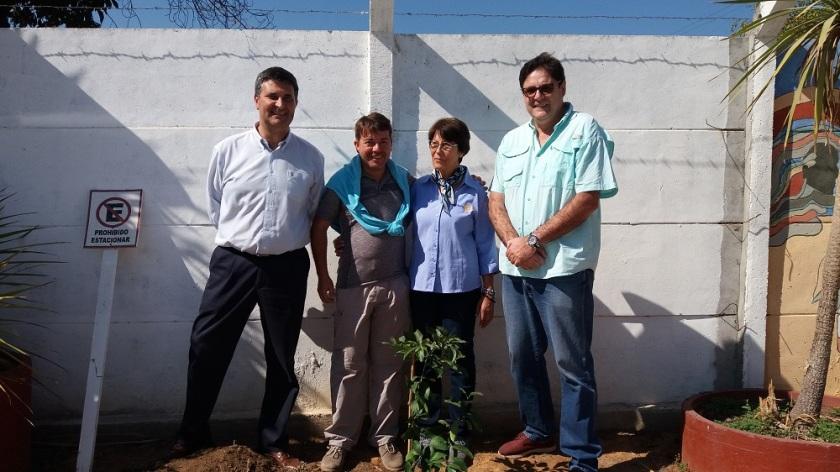Rodrigo Jarufe, Alejandro Godoy, Laura Jara, Gonzalo Fontanes