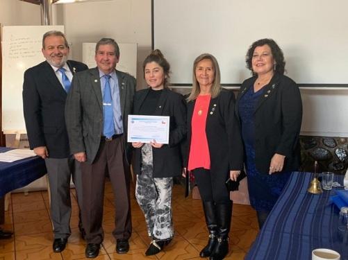 Diploma Beatriz Rioseco