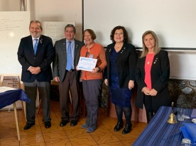 Diploma Gloria Montenegro