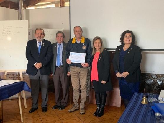 Diploma Julio Cesar Pino