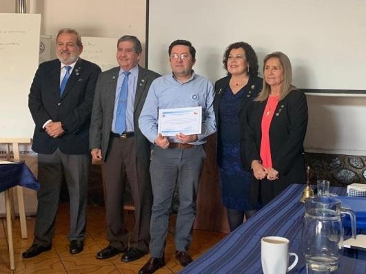 Diploma Patricio Tapia