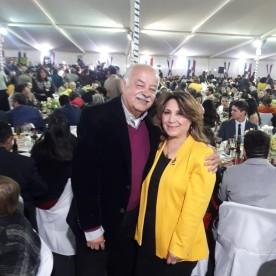 Juan Alcayaga del Canto- Concejal Municipalidad de Coquimbo y Rotario, Margarita General Torrejón – Vice Presidenta Rotary Club de Coquimbo 2020-2021