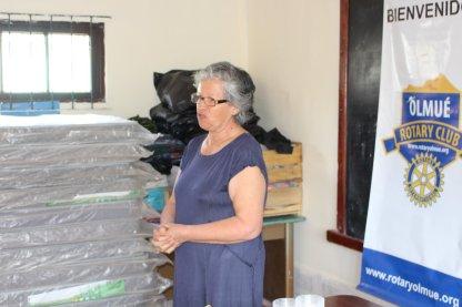 Matilde Miranda presidenta del Comité de Salud de La Vega